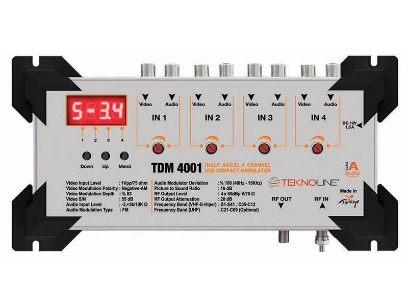TDM 4001] TDM 4001 DSB demodulator